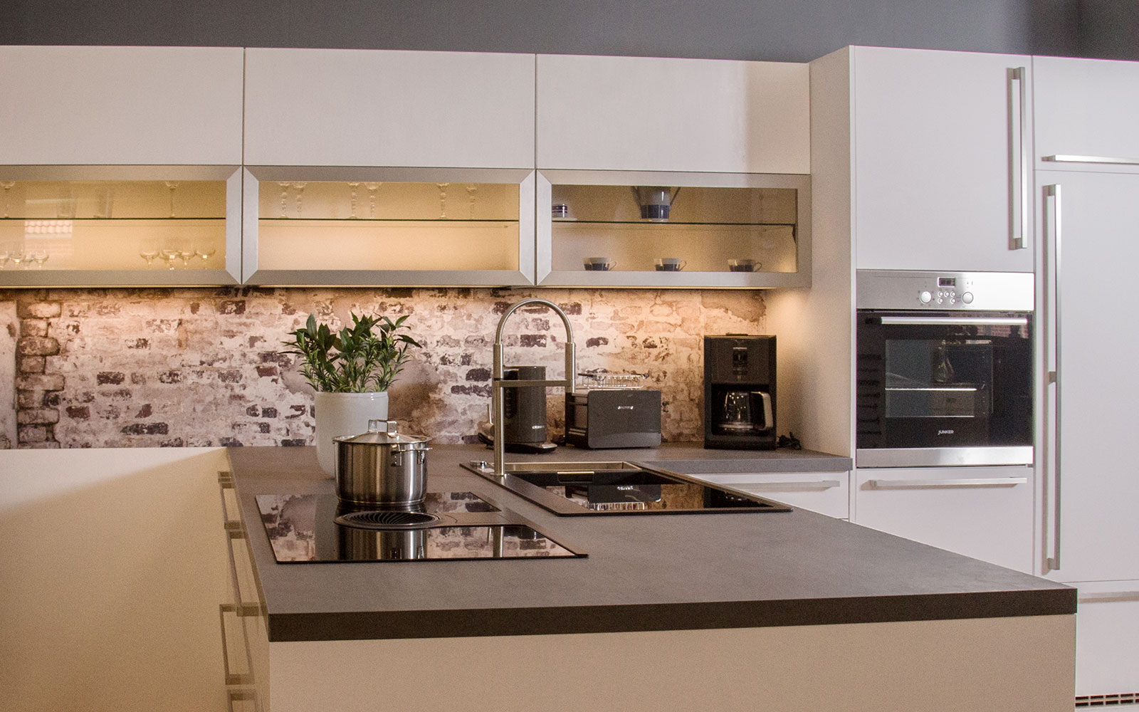 Küchenausstellung von monsator Küchen Wernigerode